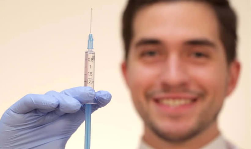 Painless PRP Injections