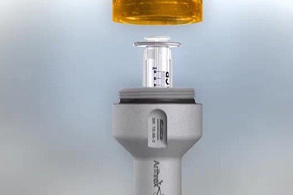 Arthrex ACP Double Syringe System Explained Image - PRP